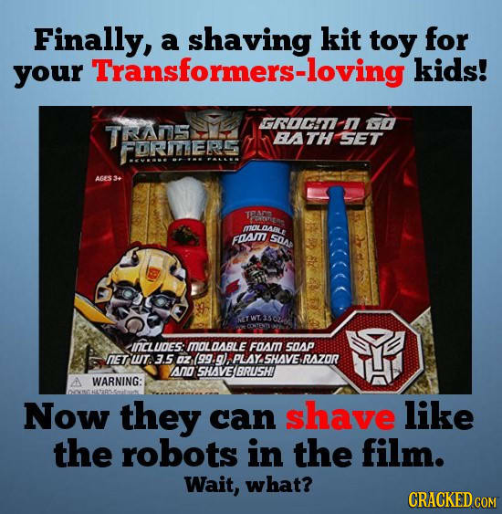 24 Wildly Inappropriate Official Movie Tie-In Products
