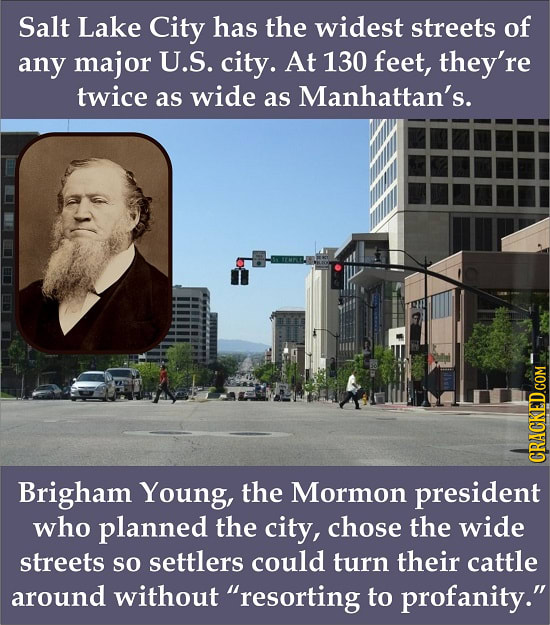 Disturbing Facts About 29 Seemingly Normal Cities