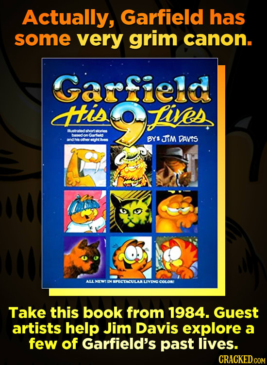 The Incredibly Dark Garfield Strip You've Never Seen