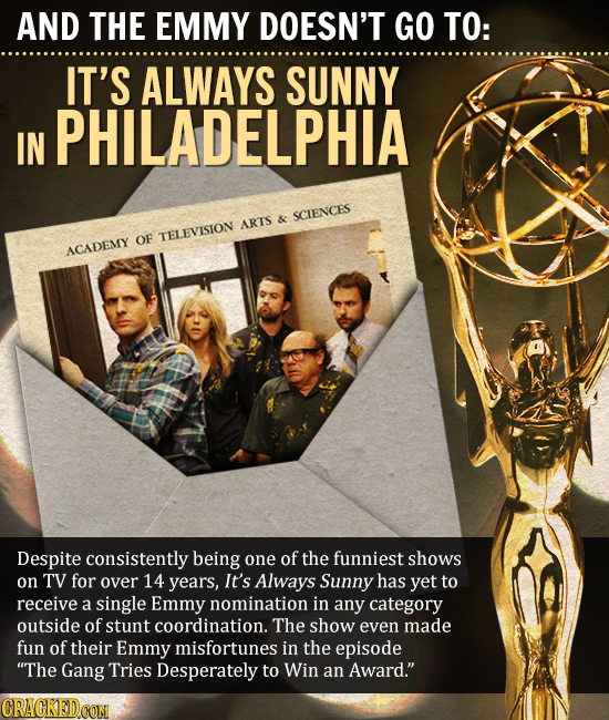 Emmy Snubs That Prove Awards Are Meaningless