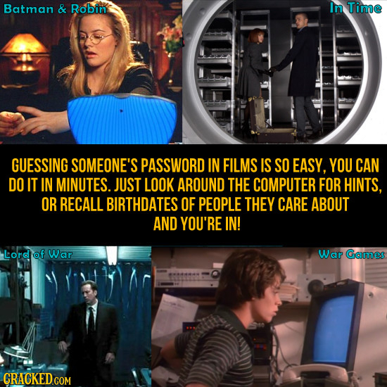 20 Rules Of Movie Universes (That Never Happen In Real Life)