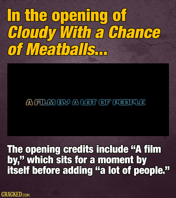 20 Movie And Show Hidden Jokes (In The Credits)
