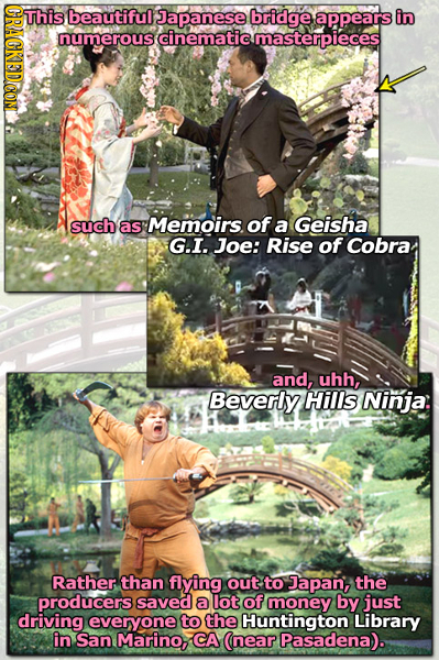 This CRAGKEDCOM beautiful Japanese bridge appears in numerous cinematic cmasterpieces such of as Memoirs. a Geisha G.I. Joe: Rise of Cobra and, uhh, B