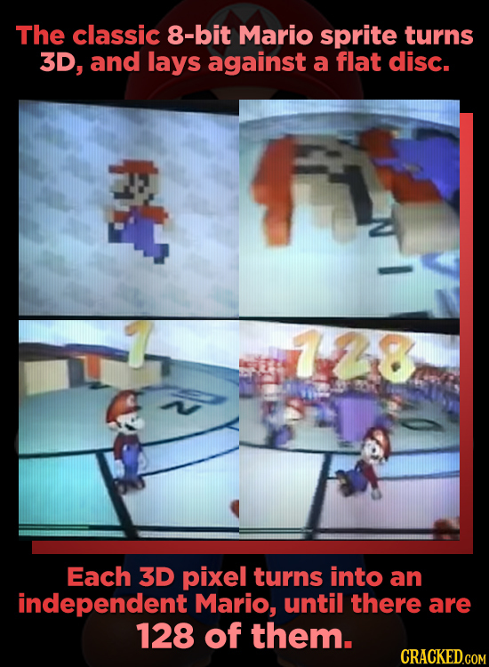 The Legend Of Super Mario 128