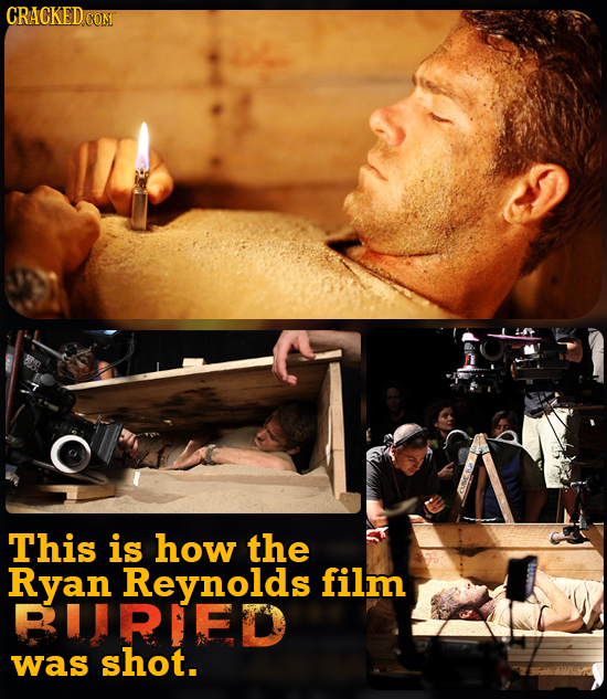 CRACKEDCON This is how the Ryan Reynolds film RUIRIED was shot.