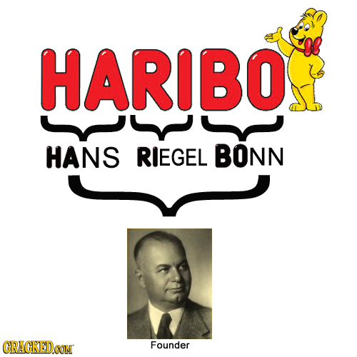 HARIBOS HANS RIEGEL BONN CRACKED.CON Founder