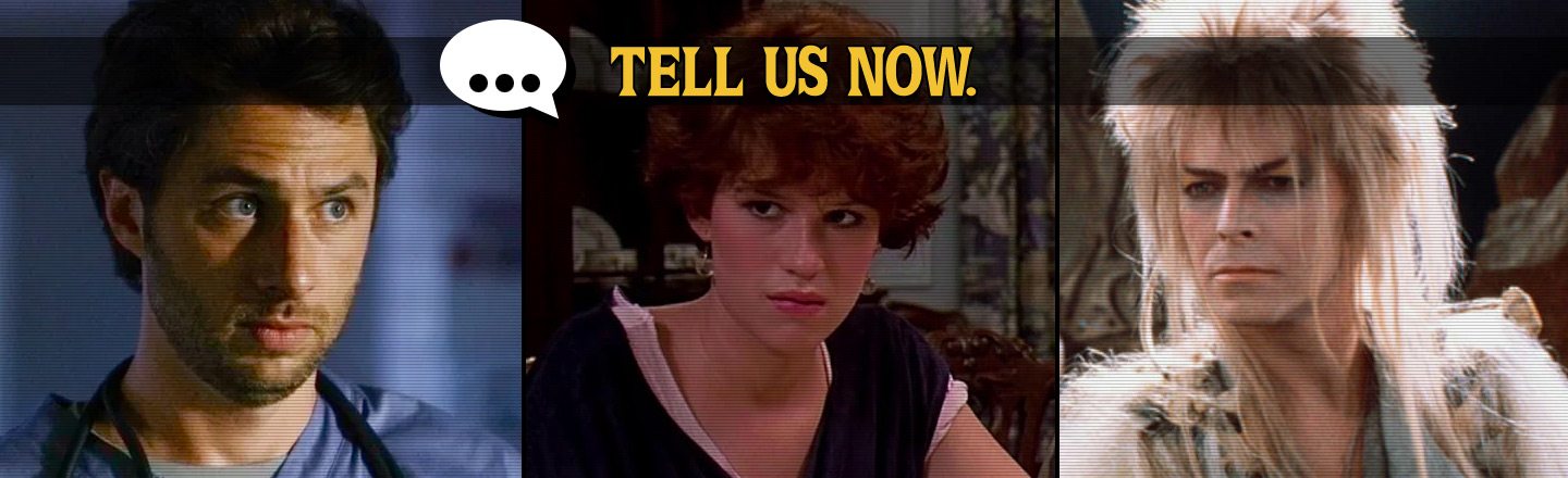 Tell Us Now: Once-Favorite Movies & Shows That Make You Cringe Now