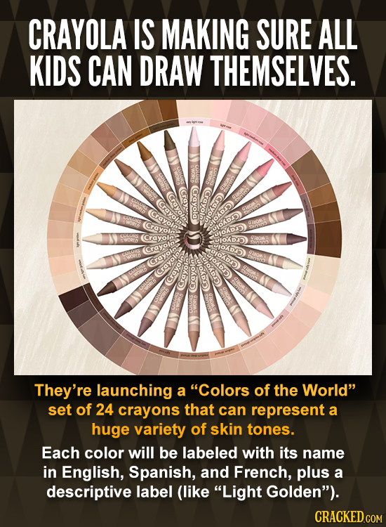 CRAYOLA IS MAKING SURE ALL KIDS CAN DRAW THEMSELVES. SWORD GULUO (Crayolo. Crayola (Crayoln Crayola (Crayole (Crayole: ORDAD) lofe Crayoln yiokdD) Cra