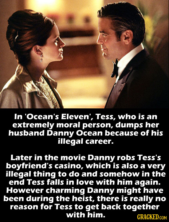 15 Movie Romances That Are Actually Creepy As Hell