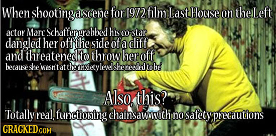 24 Horrifying True Stories Behind the Scenes of Huge Movies
