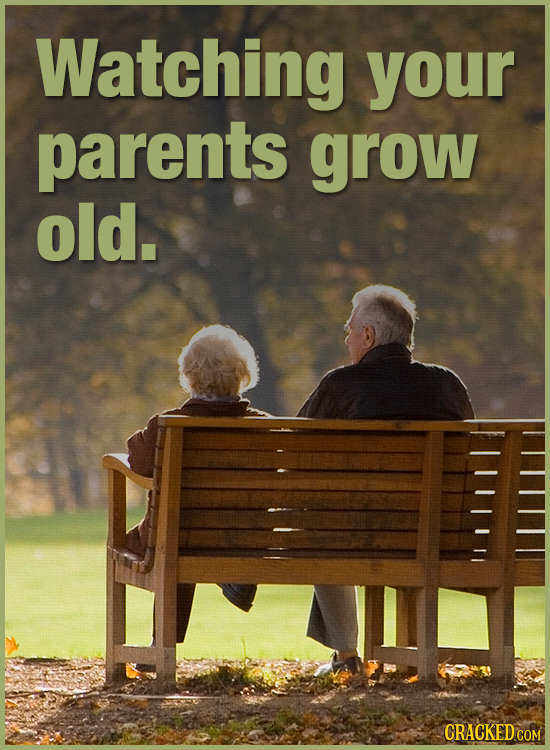 Watching your parents grow old. CRACKEDCON