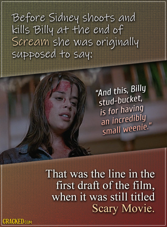 Familiar Movie Scenes That Were Almost Completely Different