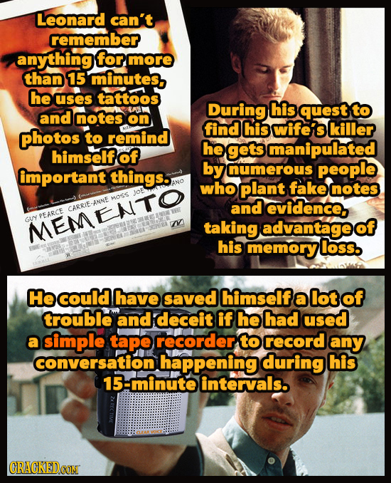 Obvious Ways To Solve Famous Movie Plots In Seconds