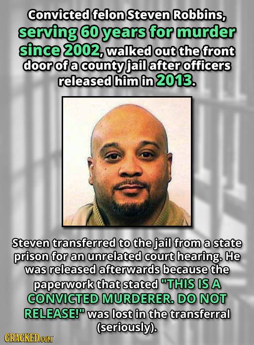 15 Keystone Cops Moments That Let Criminals Go Free
