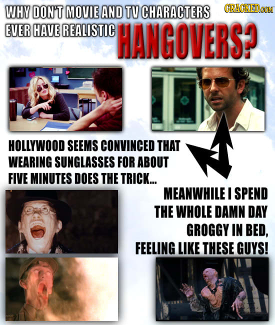 23 Things You Do That Hollywood Never Shows Onscreen
