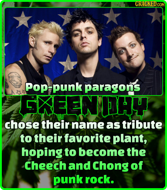 CRACKEDGO Pop-punk paragons EKEENHY chose their name as tribute to their favorite plant, hoping to become the Cheech and Chong of punk rock.