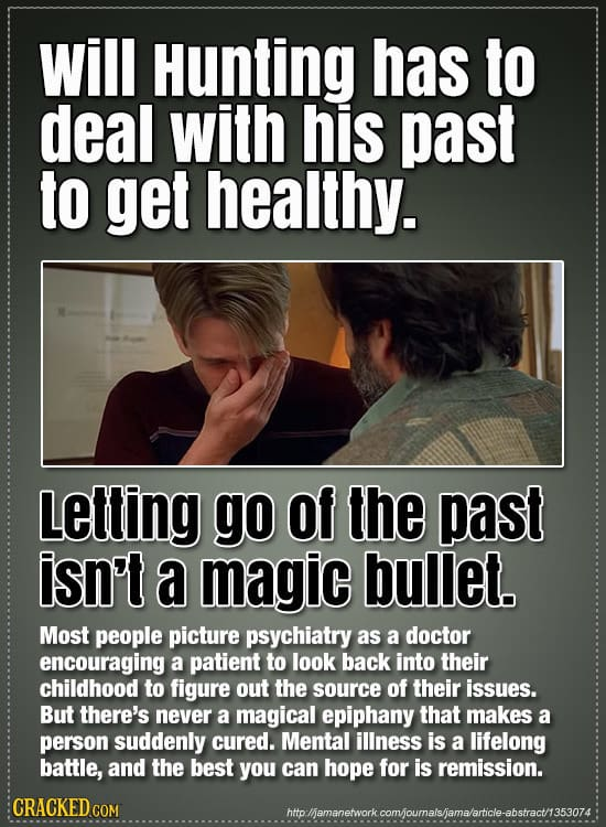 22 Things Movies Get Completely Wrong About Mental Illness