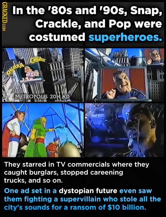 27 Weird Facts About Super-Popular Mascots