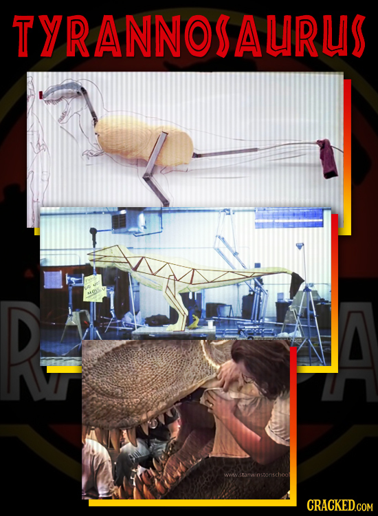 Behind The Scenes Of Jurassic Park's Groundbreaking Puppetry