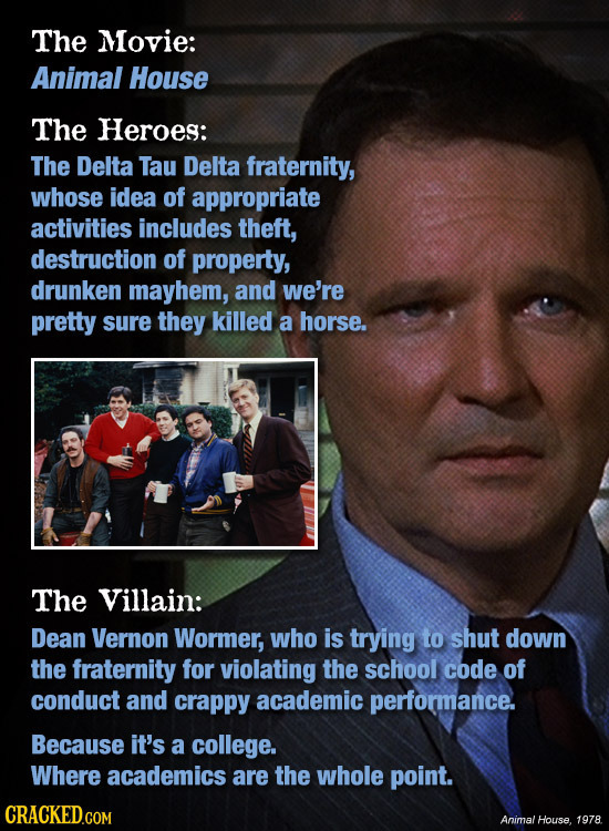 21 Iconic Movie Villains That Were Secretly Good Guys