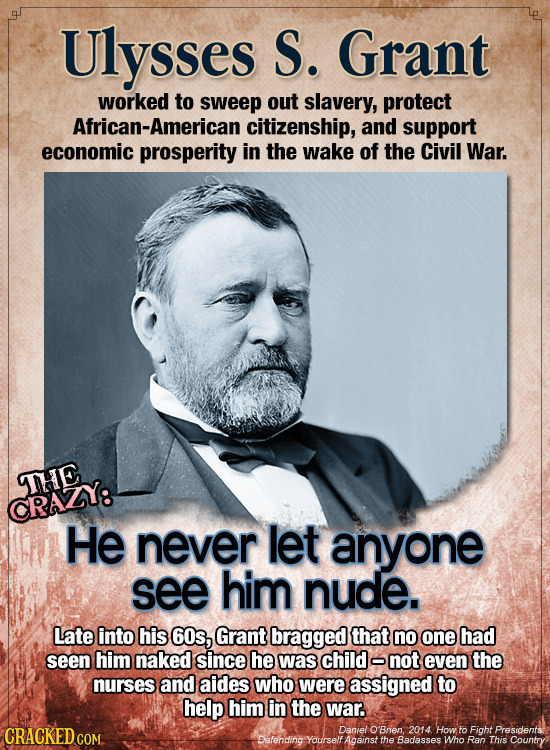 Ulysses S. Grant worked to sweep out slavery, protect African-American citizenship, and support economic prosperity in the wake of the Civil War. THE