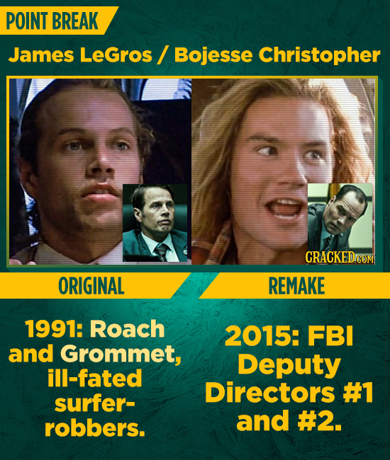 First Episode Vs. Last Episode: 15 Stars Who Passed The Torch By Appearing In Their Franchise's Remake