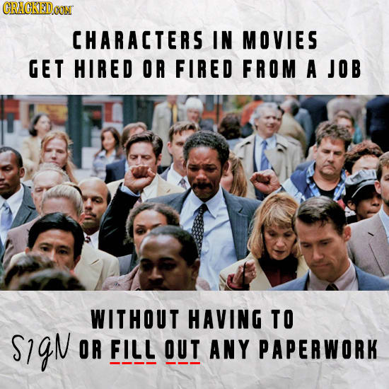 Dumb Stuff That Nobody In Movies Or Shows Has To Worry About