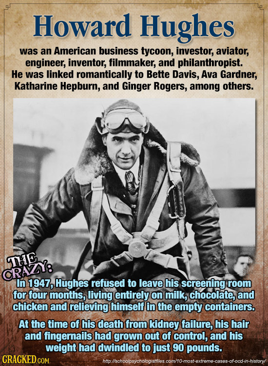 24 Famous Historical Figures You Didn't Know Were Insane