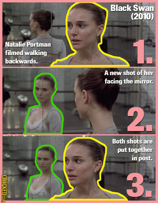20 Incredibly Clever Movie Scenes, And How They Were Done