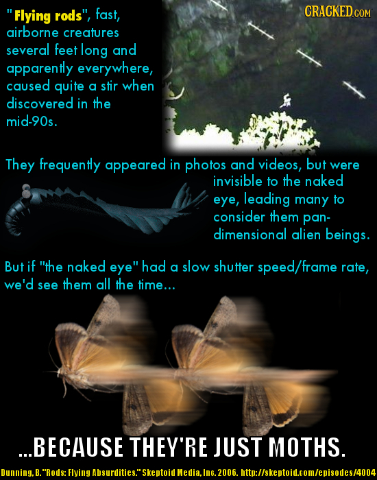 15 Famous 'Paranormal' Photos (Explained by Science)