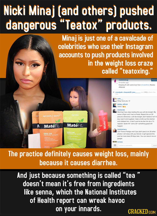 11 Super-Sketchy Products That Celebrities Actually Endorsed