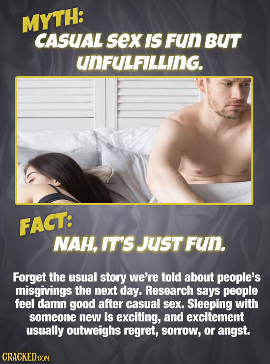 Sex Myths You've Probably Believed Your Entire Life