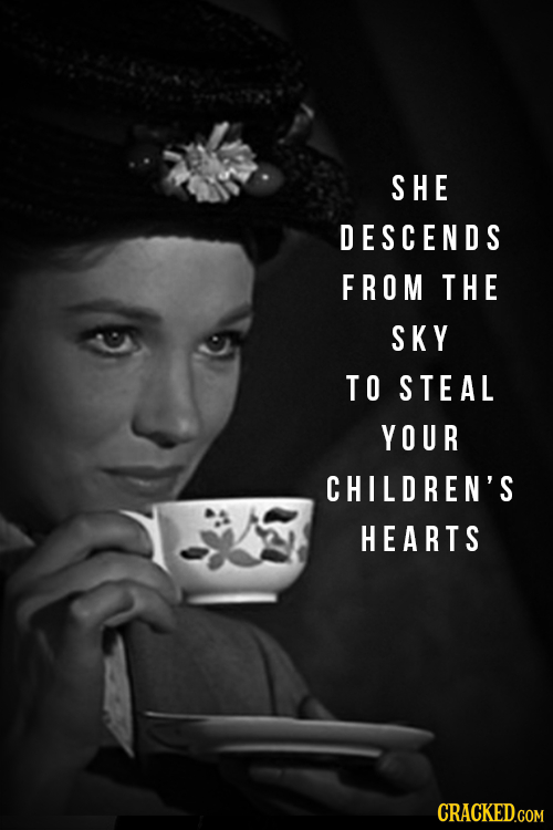 SHE DESCENDS FROM THE SKY TO STEAL YOUR CHILDREN'S HEARTS CRACKED.COM
