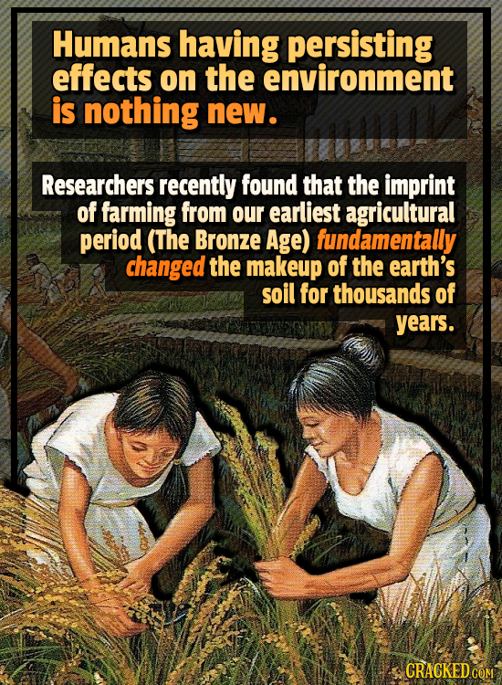 20 Bizarre Ways Humans Are Permanently Changing The Planet