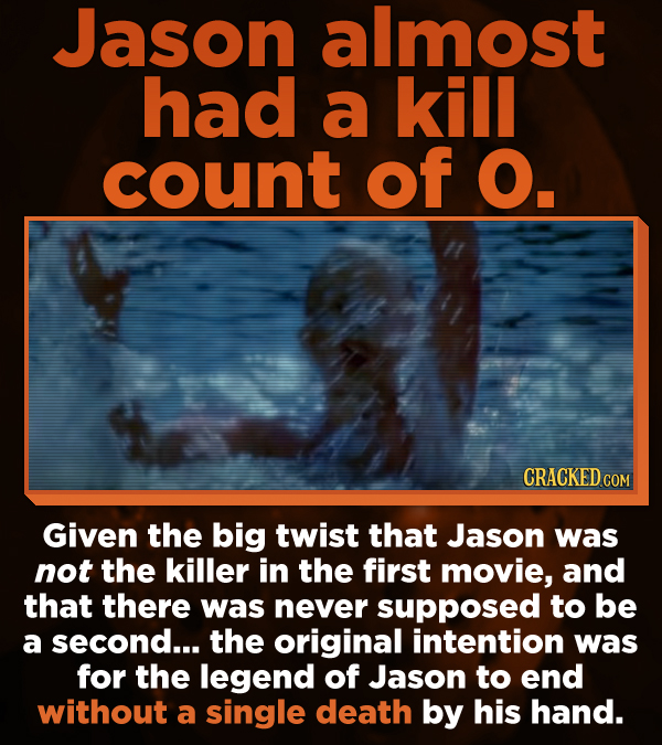 13 Freaked-Up Facts About The Friday The 13th Franchise
