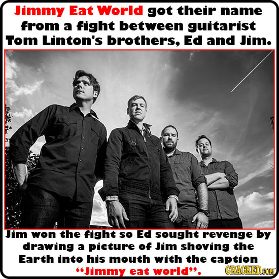 Weird Explanations Behind Famous Band Names