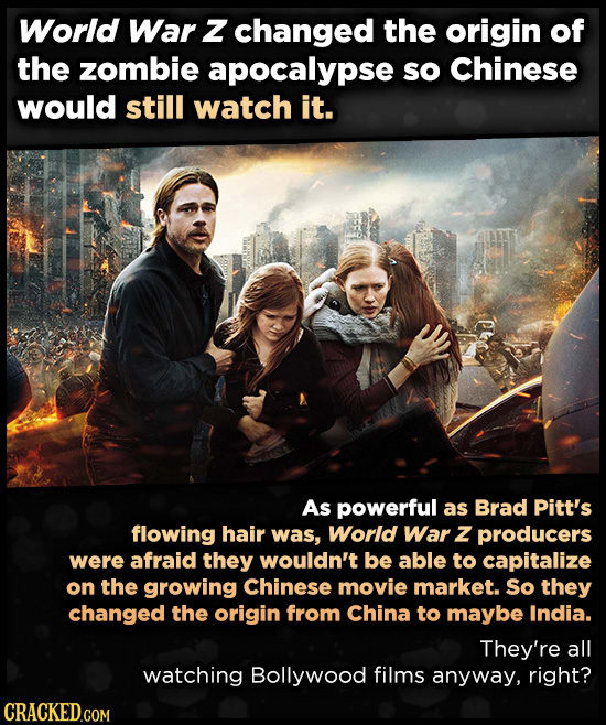 11 Ridiculous Reasons For Changes To Famous Movies