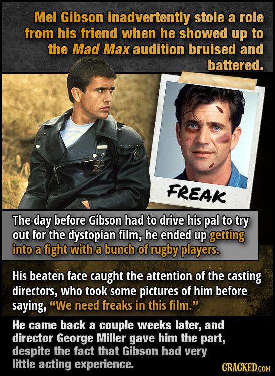 12 Bizarre Ways Actors Landed Their Most-Famous Roles