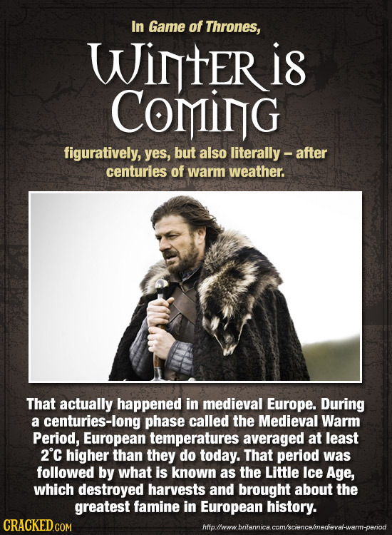 24 Insane Ways Game Of Thrones Is 'Based On A True Story'