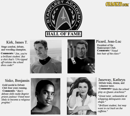 28 Yearbook Shots Fictional Characters Don't Want You to See