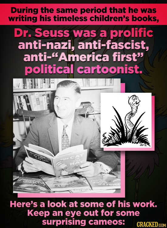 The Dr. Seuss Antifa Cartoons You've Probably Never Seen