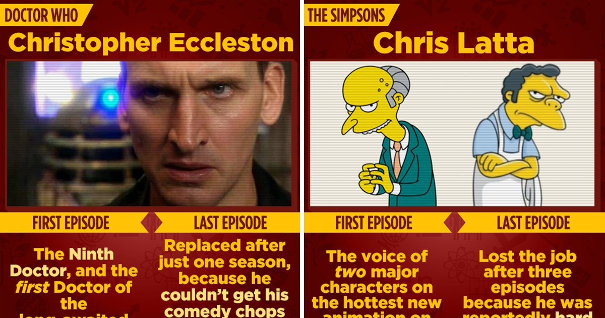 First Episode Vs. Last Episode: 15 Actors Who Probably Regret Quitting Iconic Roles