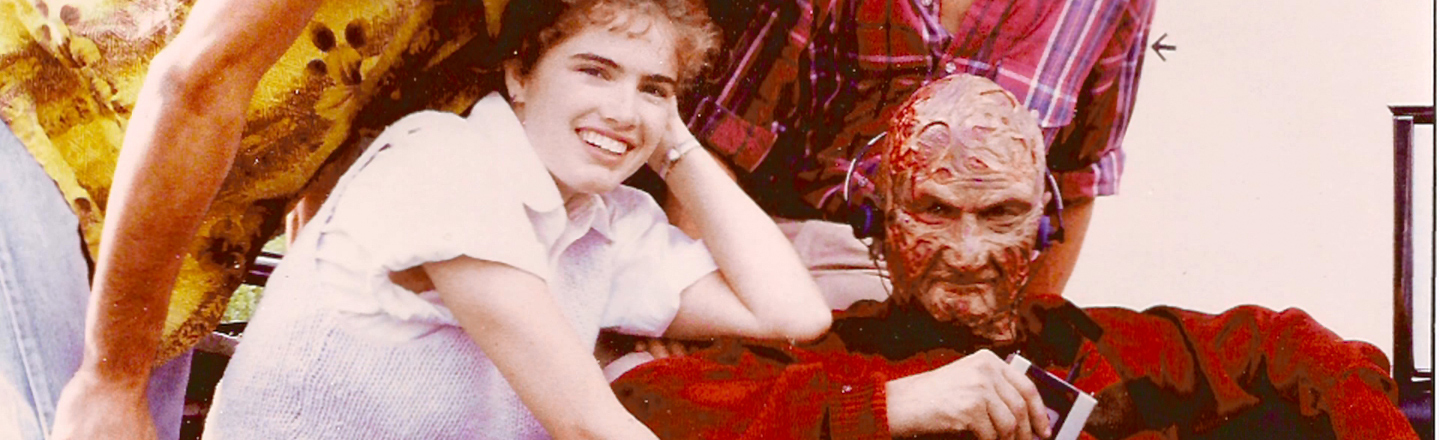 15 Behind-The-Scenes Photos That Make Horror Movies Less Scary