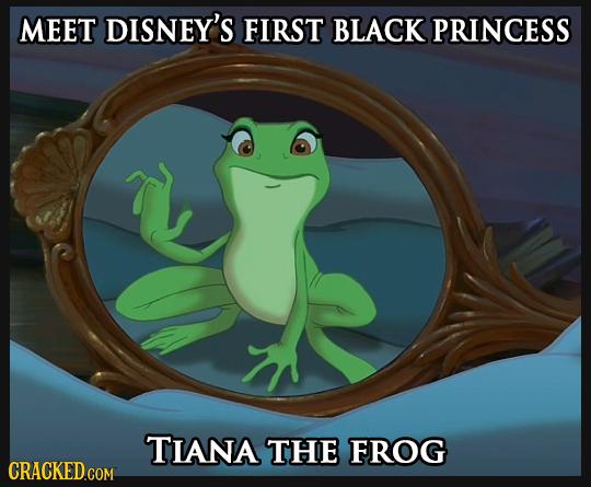 MEET DISNEY'S FIRST BLACK PRINCESS TIANA THE FROG
