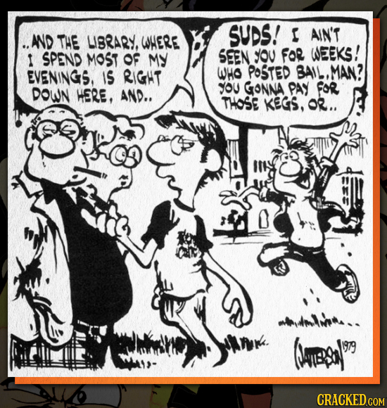 The Rarely Seen Original Artwork From Bill Watterson's Yearbook