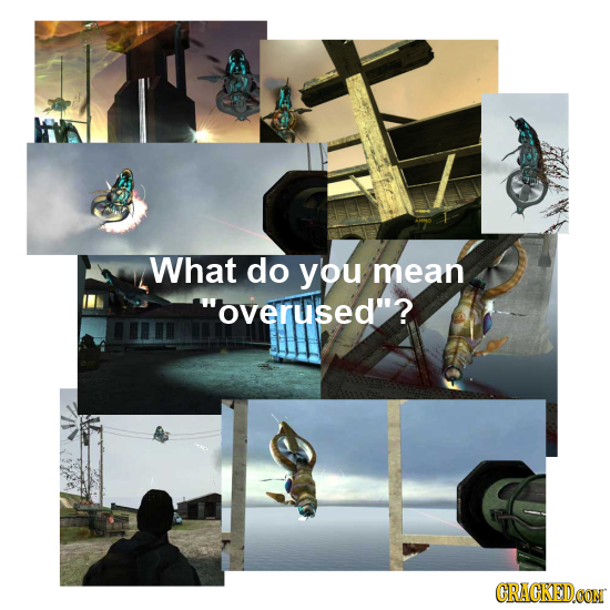 What do you mean overused? CRACKEDCON