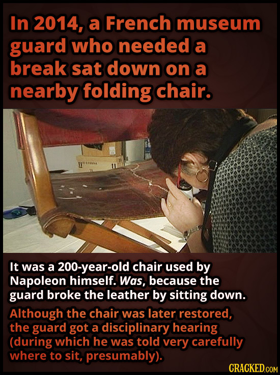 19 Priceless Things And The Total Morons Who Destroyed Them