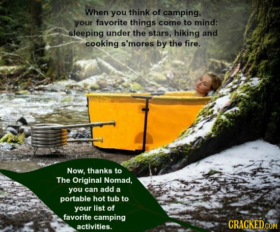 When you think of camping, your favorite things come to mind: sleeping under the stars, hiking and cooking s'mores by the fire. Now, thanks to The Ori