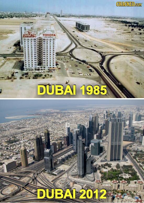 TOYOTA BAMHATRL DUBAI 1985 DUBAI 2012