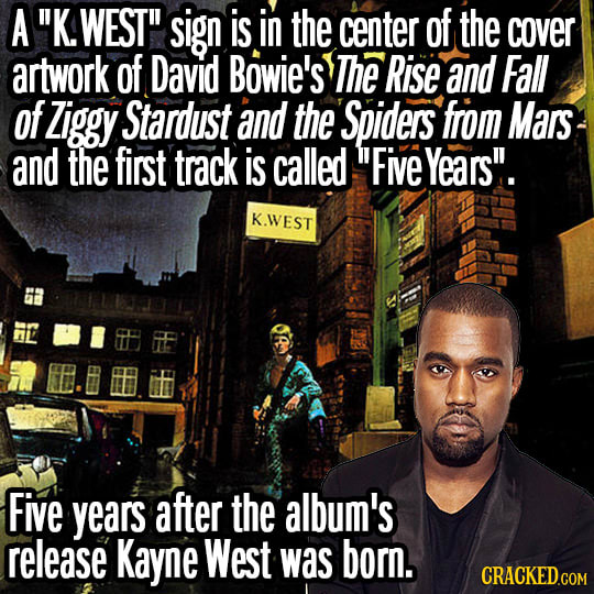 The 22 Weirdest Coincidences In Pop Culture History